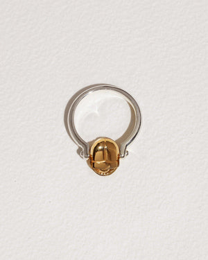 Rotating Scarab Ring