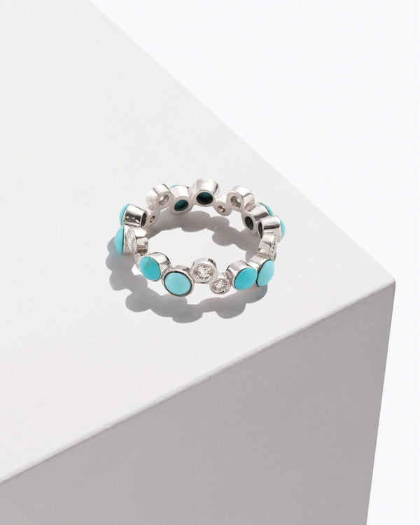 Turquoise Paillette Band