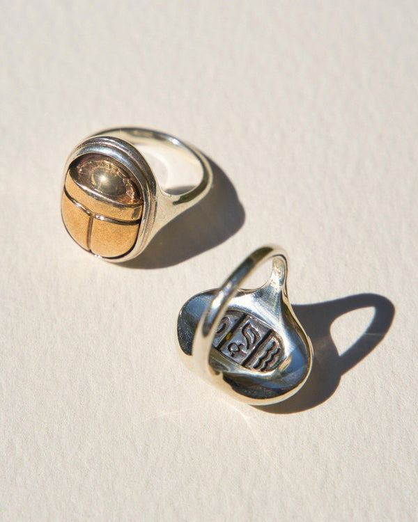 scarab rings by pamela love