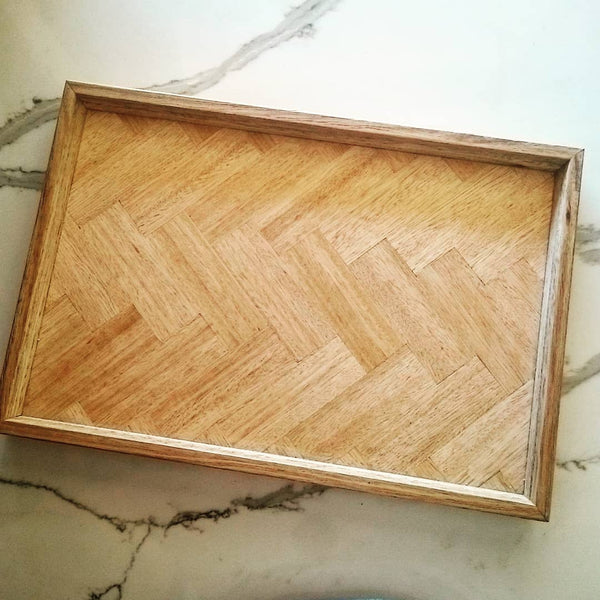 Herringbone Serving Platter