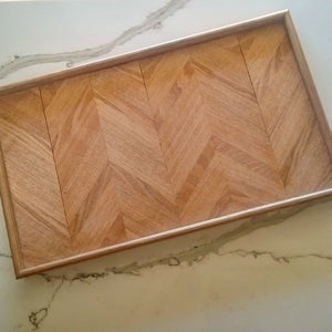 Chevron Serving Platter