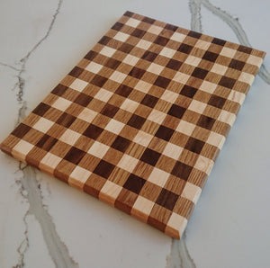 Cutting Board - Gingham