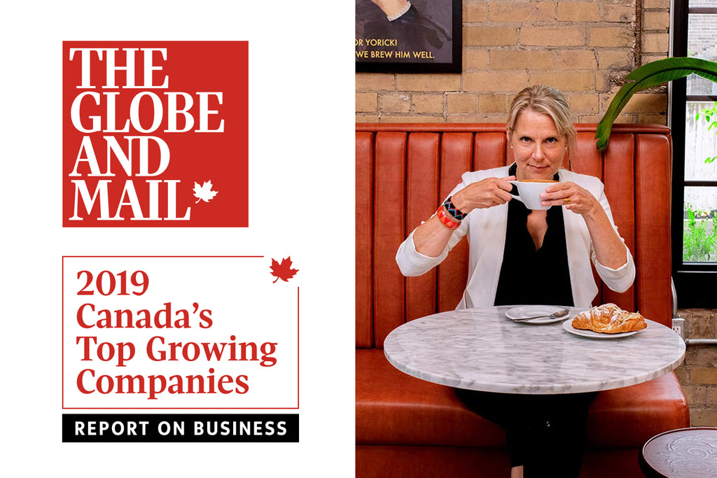 Balzac's Coffee Roasters places on the Globe & Mail's Ranking of Canada's Top Growing Companies