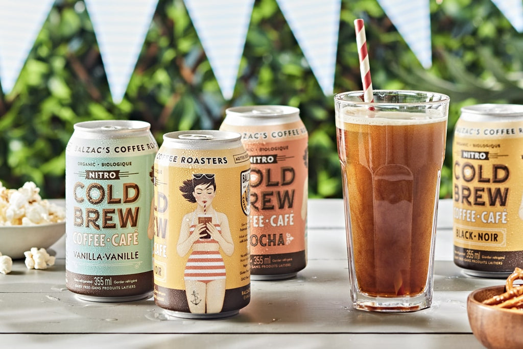Launch of New Nitro Cold Brew Cans