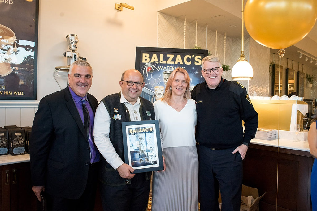 BALZAC'S WATERLOO OFFICIAL OPENING