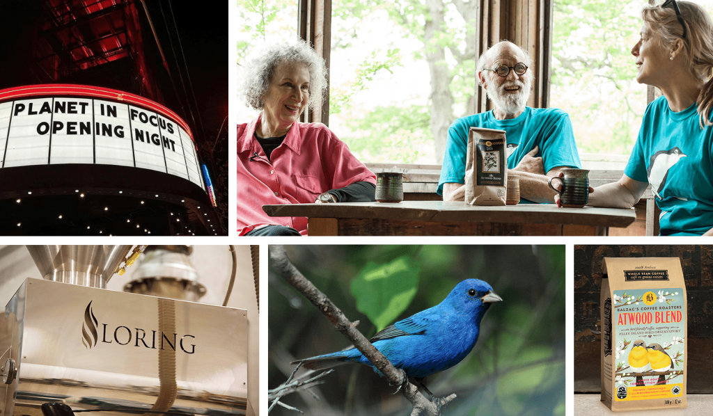 Balzac's Partners with Margaret Atwood Conservation of Birds - Image
