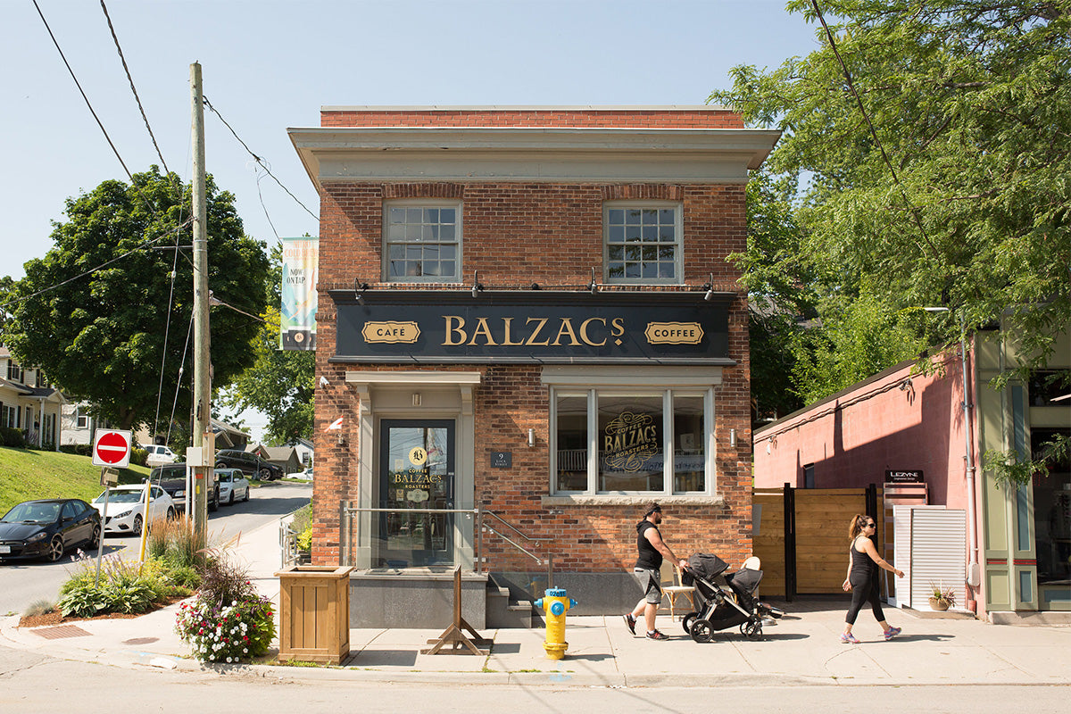 Balzacs Coffee Port Dalhousie