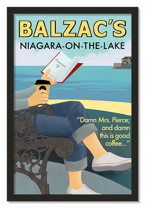 Balzacs Coffe Niagara-On-The-Lake Poster