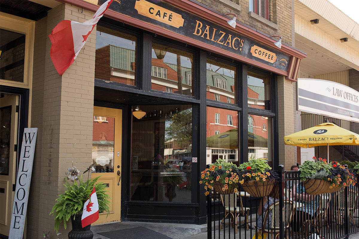 Balzacs Coffee Stratford Street View of Store Front