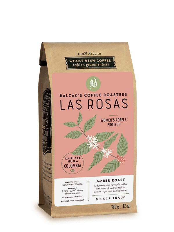 Las Rosas blend. Balzac's Coffee Roasters.