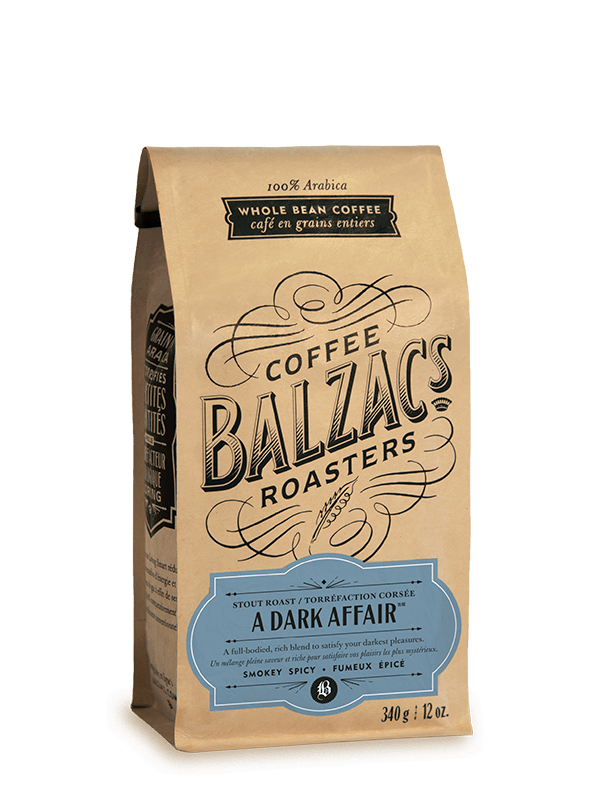 A Dark Affair Stout Roast Coffee 12oz Bag