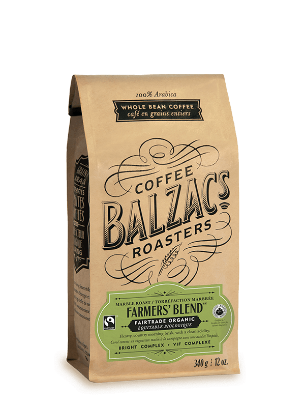 Farmers' Blend Marble Roast Fairtrade Organic Coffee