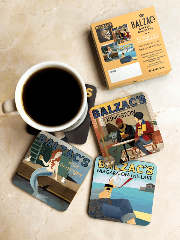 Café Posters Coasters Series 1