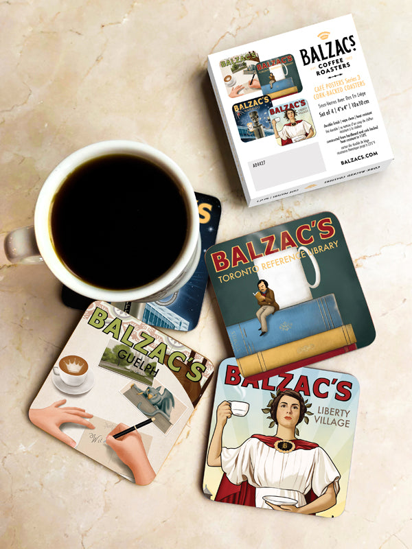 Café Posters Coasters Series 3
