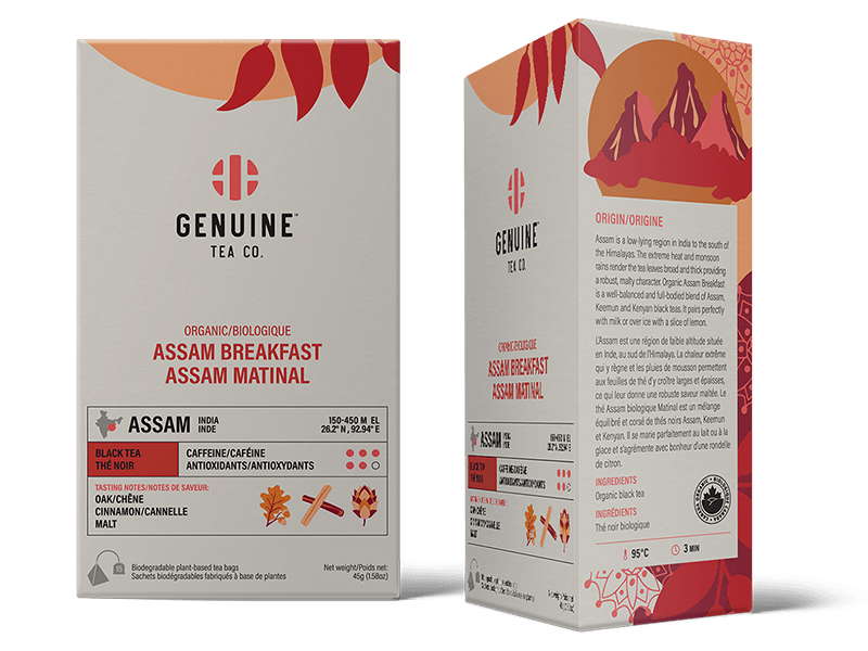 Organic Assam Breakfast - 15 Tea Bags