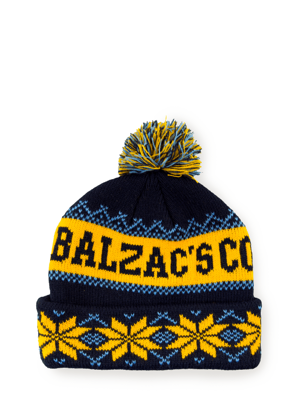 Balzac's Winter Toque Navy/Gold