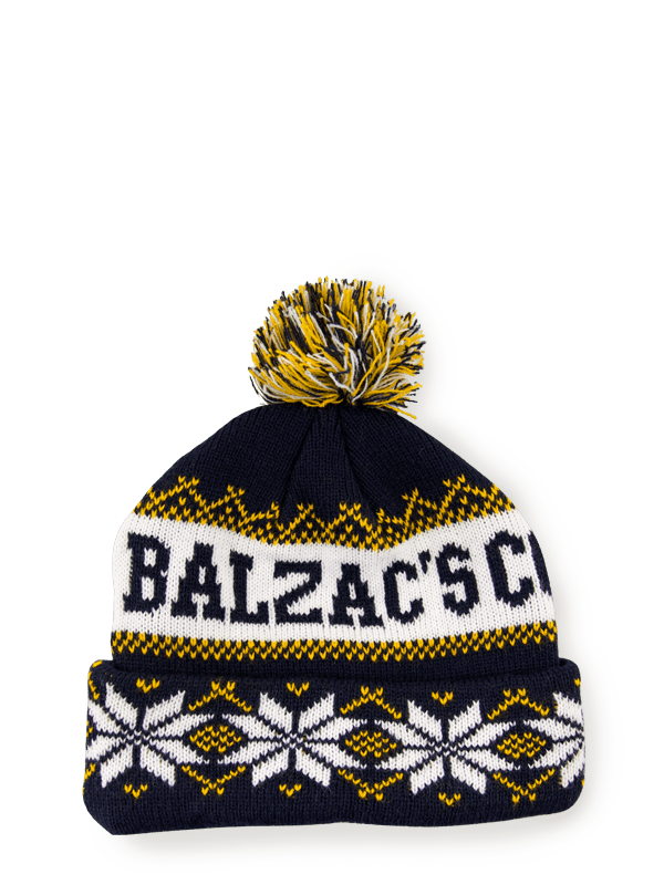 Balzac's Winter Toque Navy/White