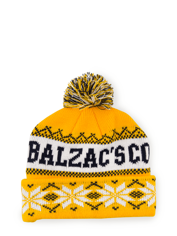 Balzac's Winter Toque Gold/White