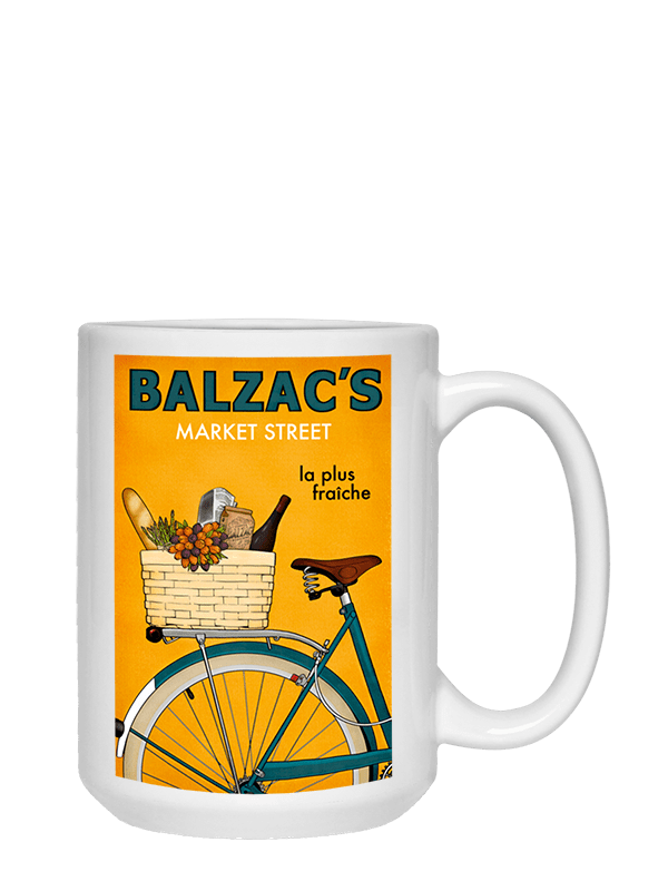 Ceramic Coffee Mug 15oz Market Street