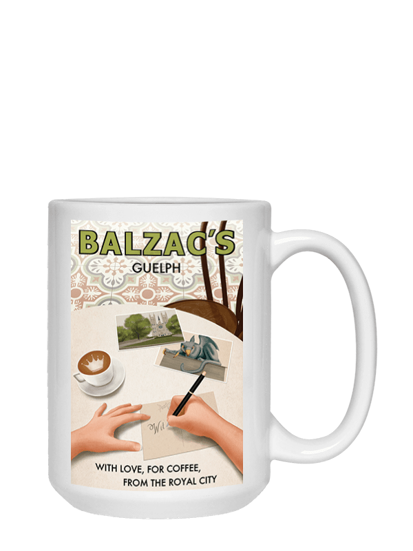 Ceramic Coffee Mug 15oz Guelph