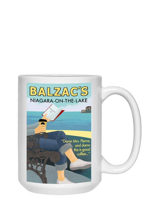 Ceramic Coffee Mug 15oz Niagara-on-the-Lake