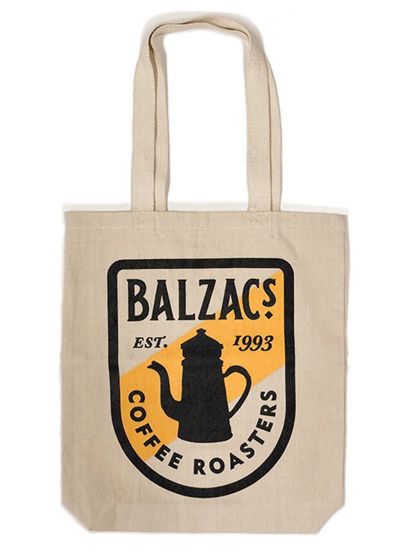 Balzac's Coffee Winter Gift Set Retro Tote Bag