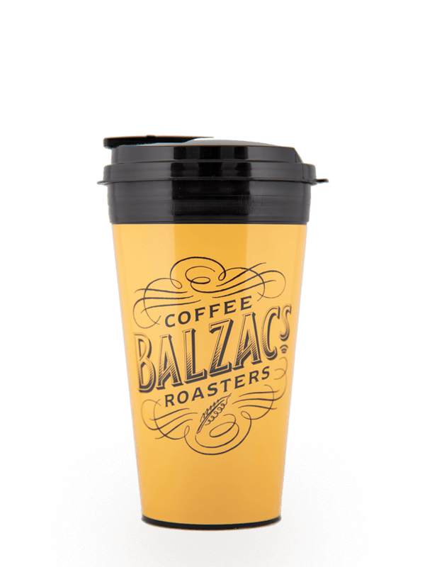 Balzac's Travel Cup - Yellow