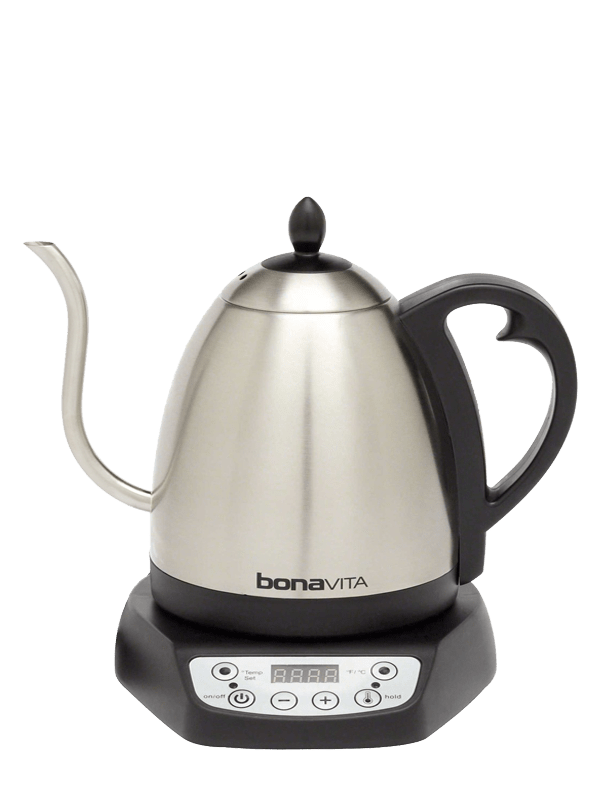 Bonavita 1L Gooseneck Variable Temp Electric Kettle