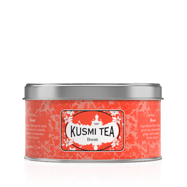 Kusmi Tea Boost 125g Loose Leaf Wellness Tea
