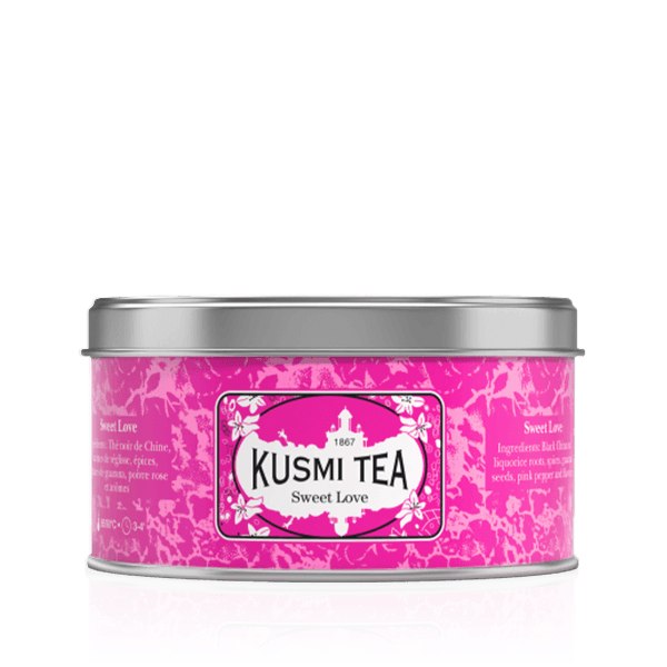 Kusmi Tea Sweet Love 125g Loose Leaf Wellness Tea