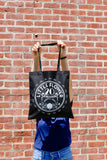 Black Little Flower 20th Anniversary Tote