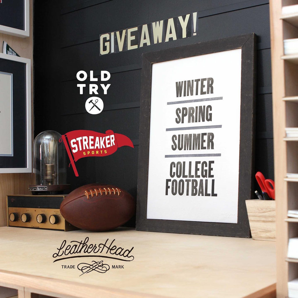 It's here, an End-Of-The-Best-Season-College-Football-Fan giveaway!...