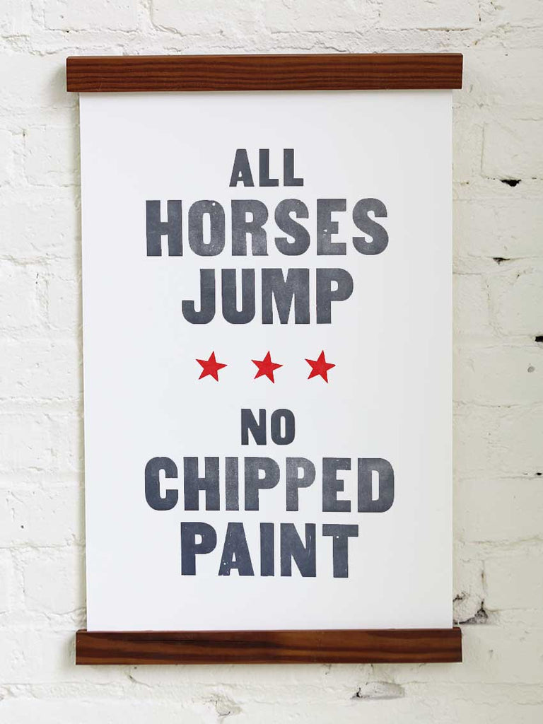 All Horses Jump - Old Try