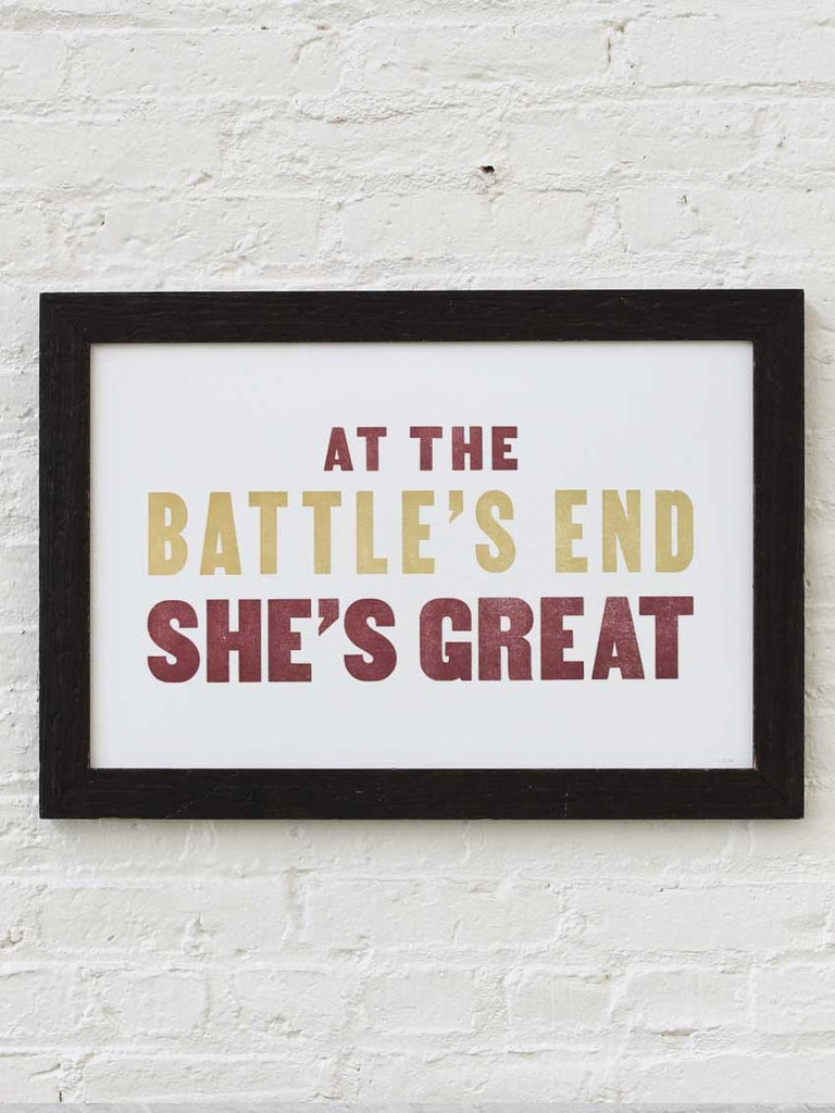 Battle's End - Old Try
