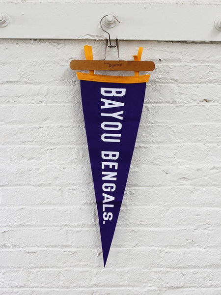 Bayou Bengals Pennant - Old Try