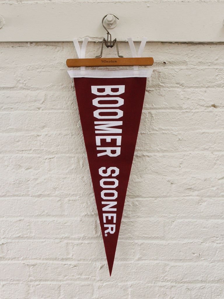 Boomer Sooner Pennant - Old Try