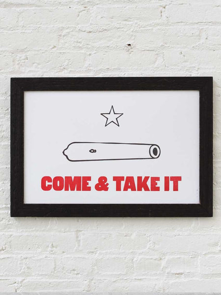 Come & Take It - Old Try