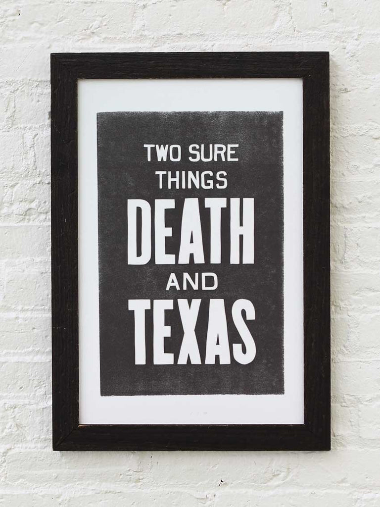 Death & Texas - Old Try
