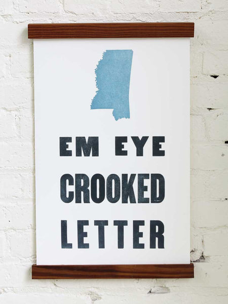 Em Eye Crooked Letter - Old Try