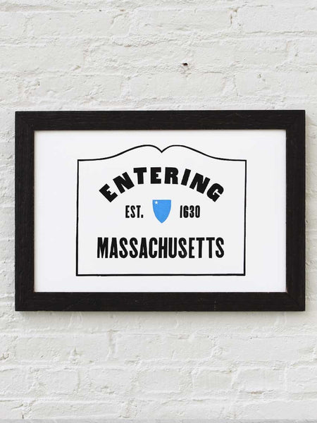 Entering Massachusetts