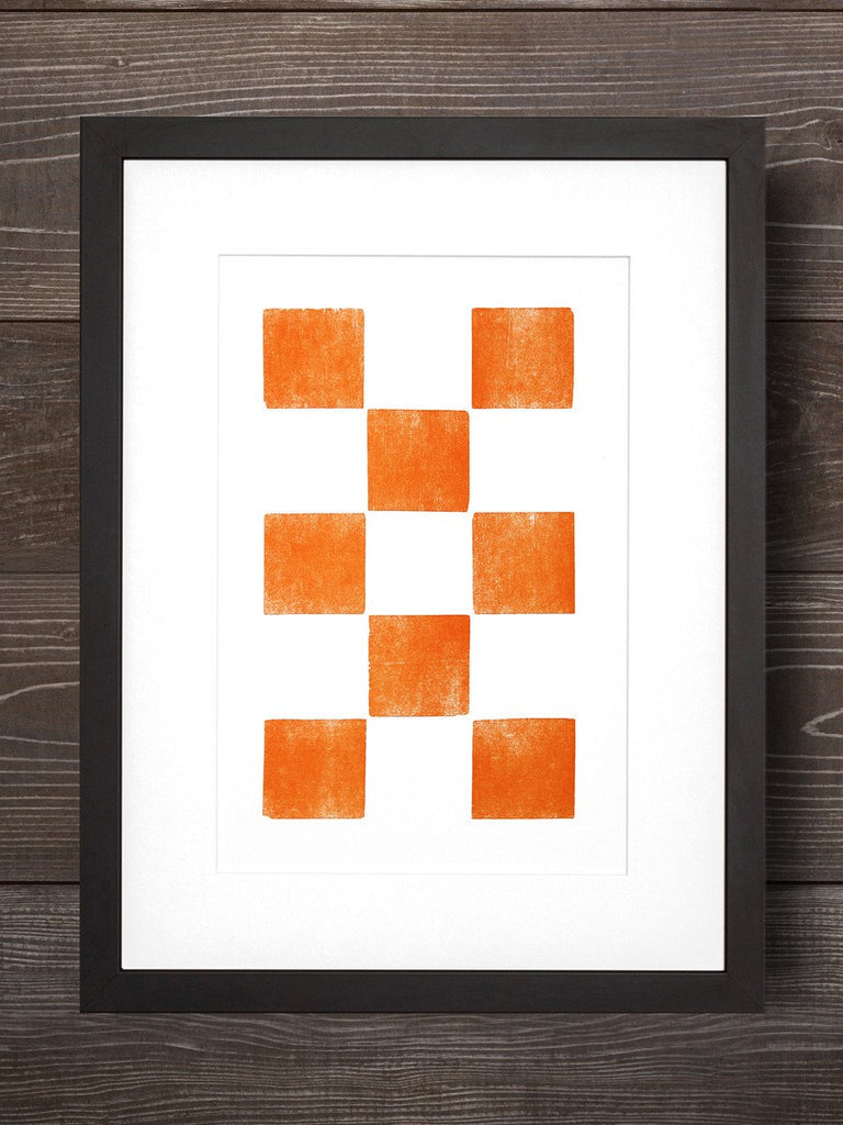 Eight Orange Squares - Old Try