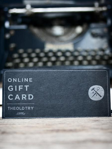 The Finest Gift Card - Old Try