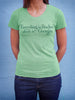 Backstock - Everything is Peaches - Womens Green Small - Old Try