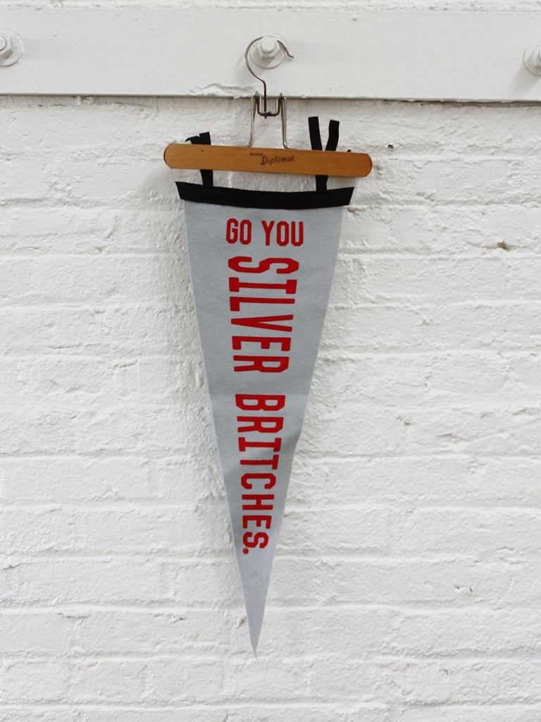 Silver Britches Pennant - Old Try