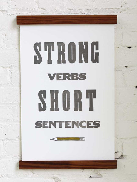 Strong Verbs - Old Try