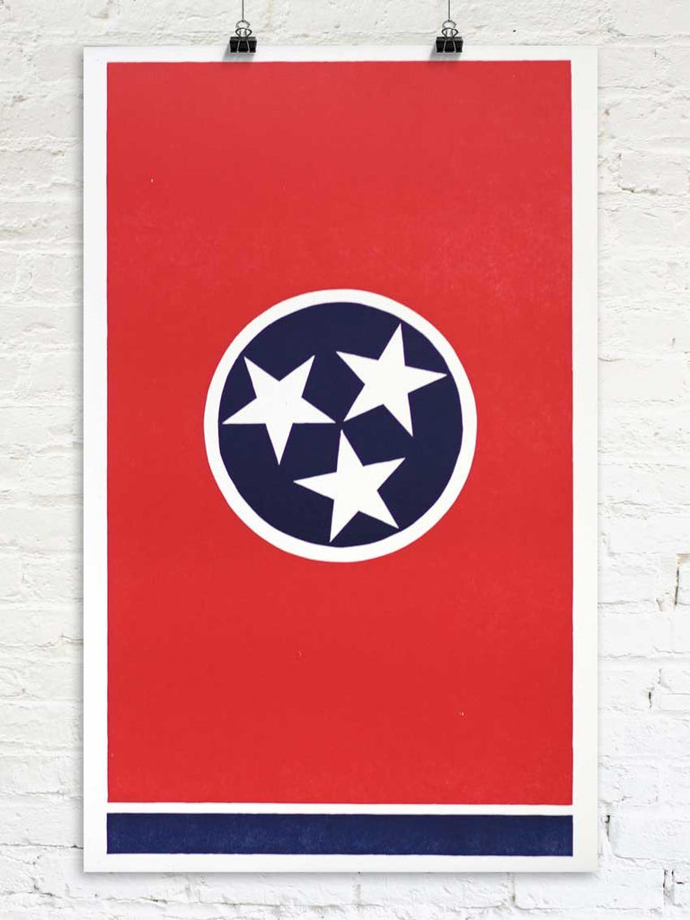 The Grand Tennessee Flag - Old Try