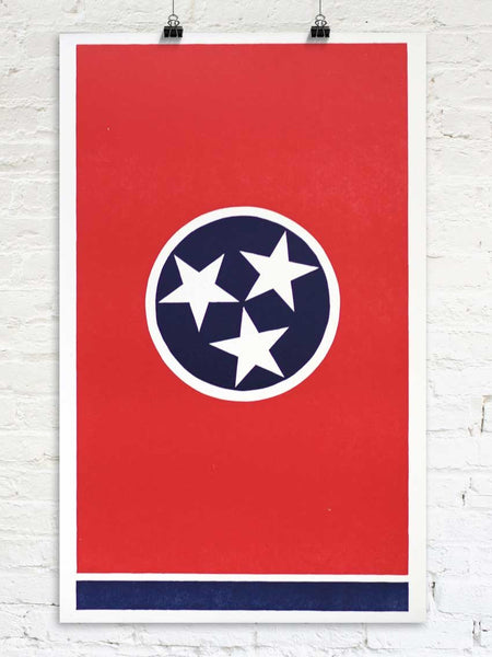 The Tennessee Flag - Old Try