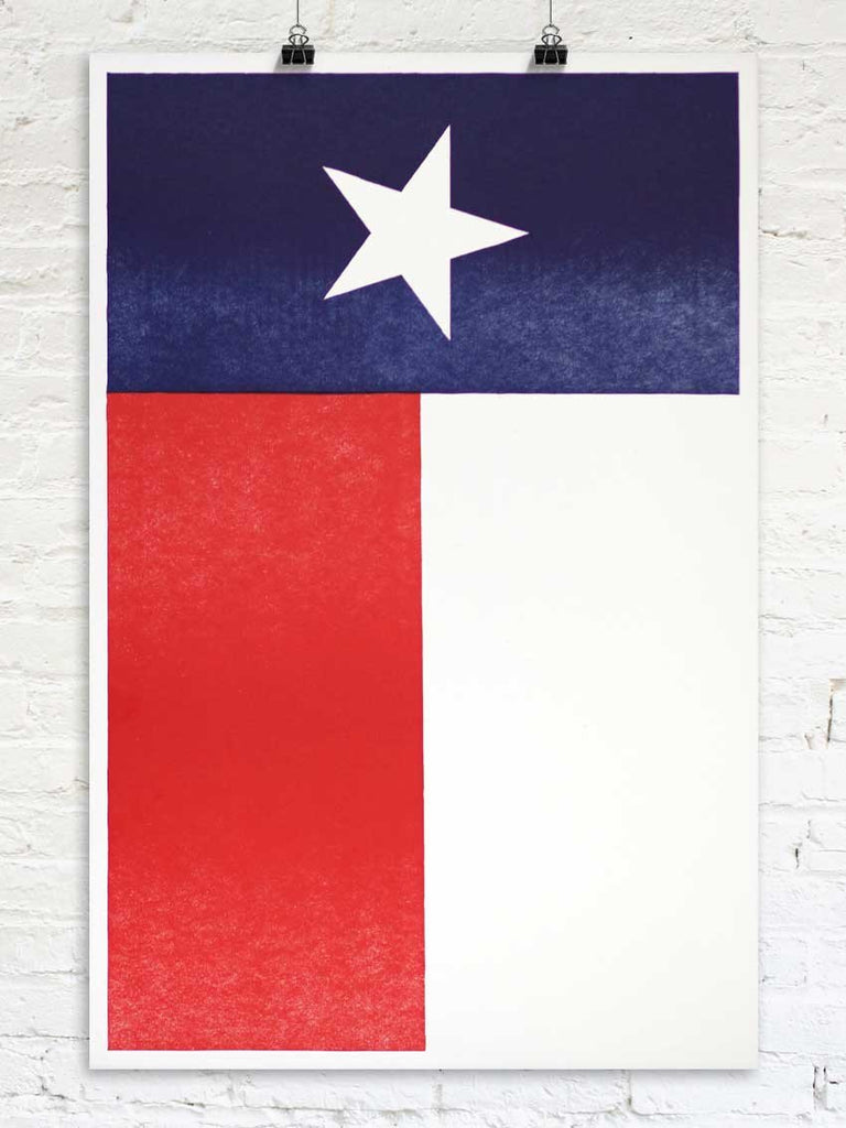 The Texas Flag - Old Try