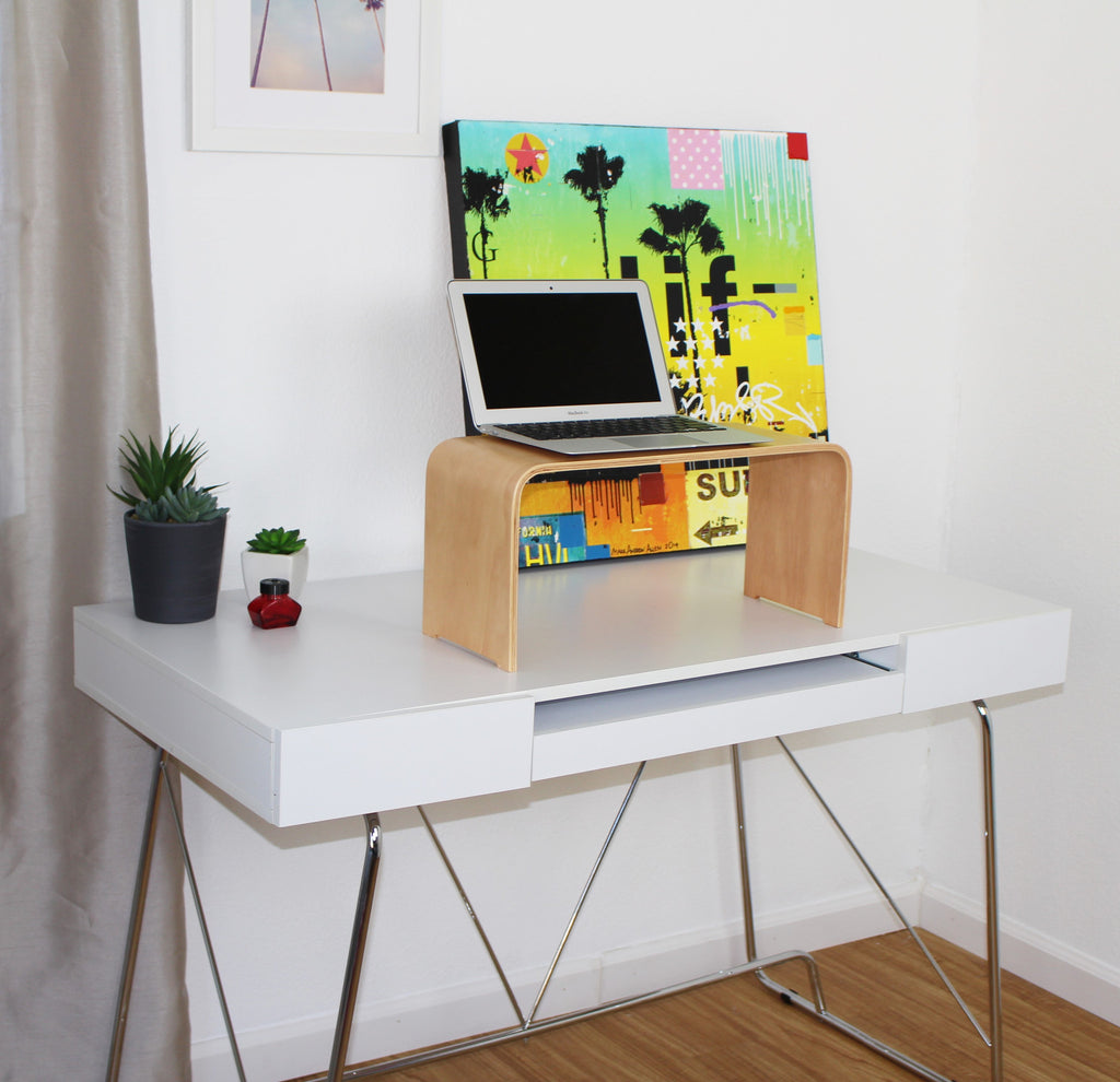 Standing Desk Monitor Laptop or Small Keyboard Stand Stand Up