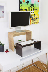 Standing Desk Adjustable Monitor, Laptop or Small Keyboard Stand